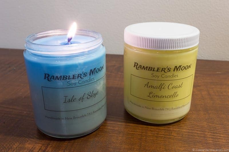 candles Travel Home Decor Handmade Travel Themed Home Decorations