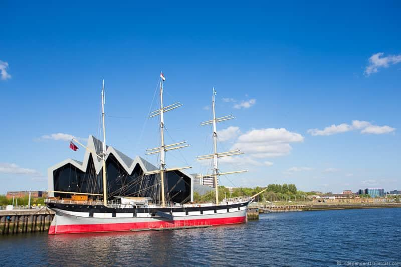 Tall Ship top things to do in Glasgow Scotland attractions