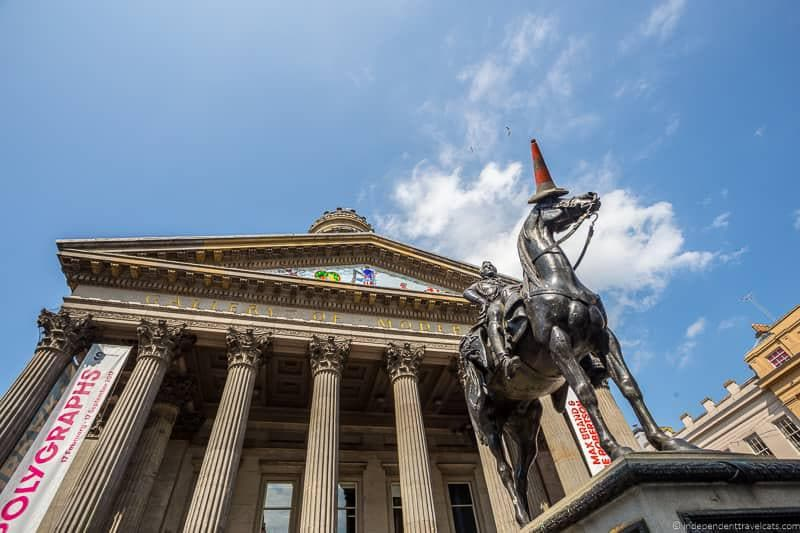 Gallery of Modern Art top things to do in Glasgow Scotland attractions