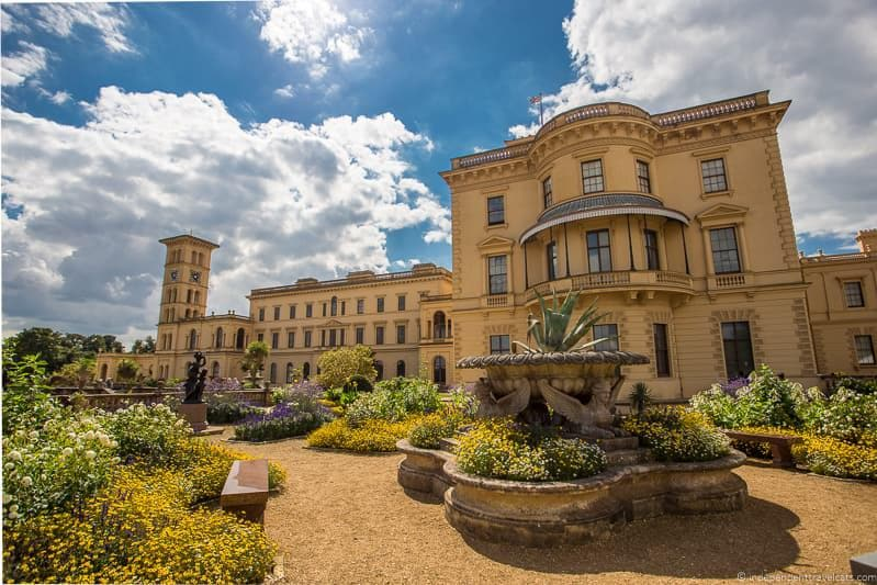 Osborne House visiting Isle of Wight Queen Victoria Trail sites