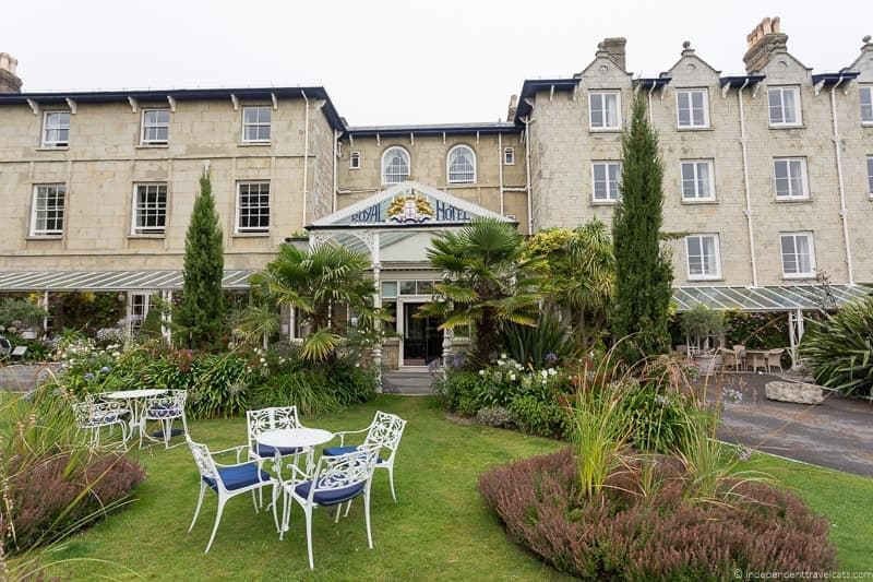 The Royal Hotel visiting Isle of Wight Queen Victoria Trail sites