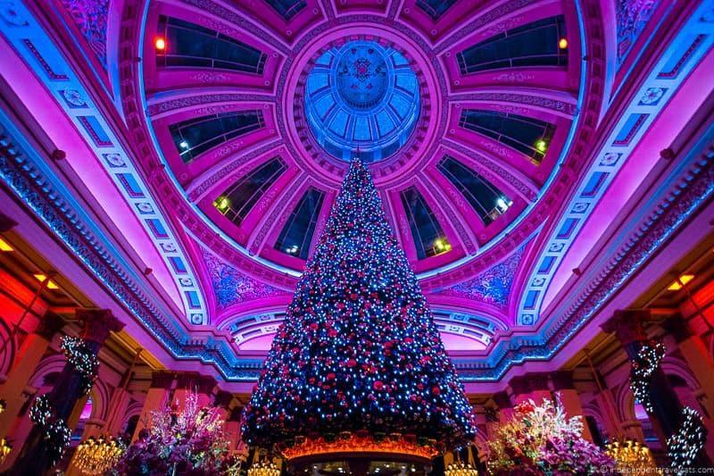 The Dome Christmas in Edinburgh Scotland December