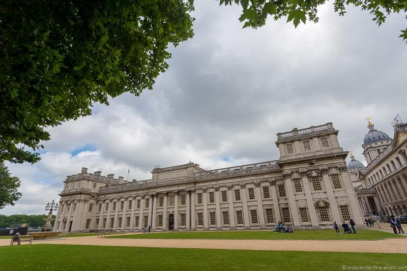 Old Royal Naval College Visiting the UNESCO World Heritage Sites in London