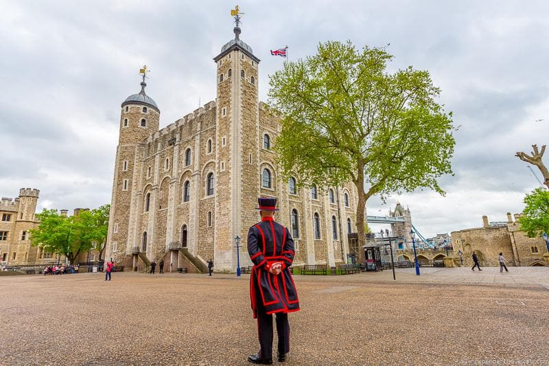 Tower of London Visiting the UNESCO World Heritage Sites in London