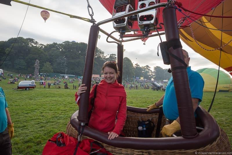 balloon rides Bristol Balloon Fiesta England UK