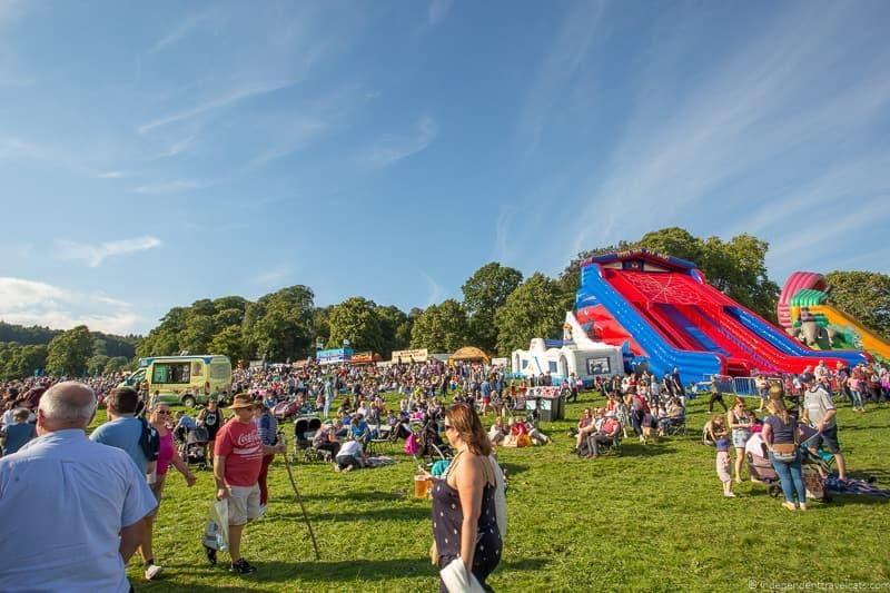 Ashton Court Estate Bristol Balloon Fiesta England UK