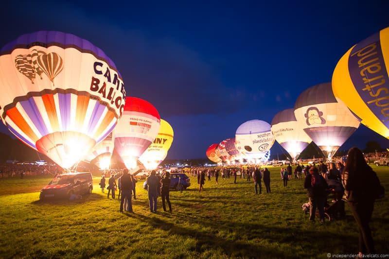 nightglow Bristol Balloon Fiesta England UK