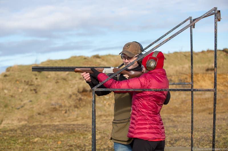 clay pigeon shooting reasons to drive North Coast 500 NC500