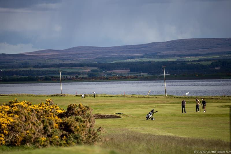 golfing reasons to drive North Coast 500 NC500