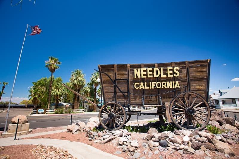 Needles California wagon 2 week Route 66 itinerary detailed guide