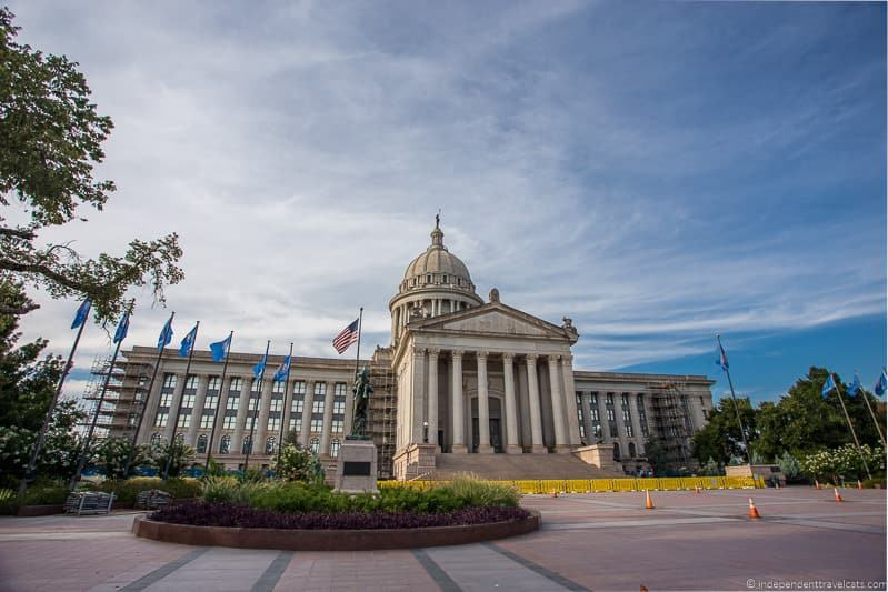 Oklahoma State Capital OKC