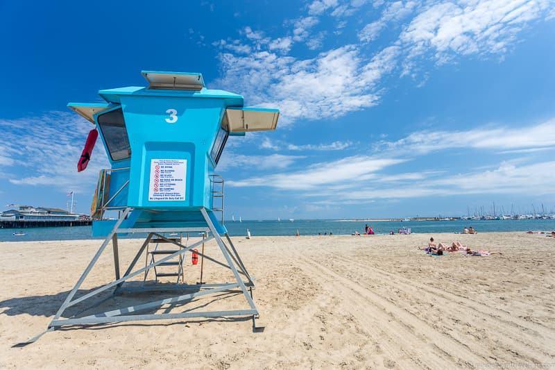 California beach Route 66