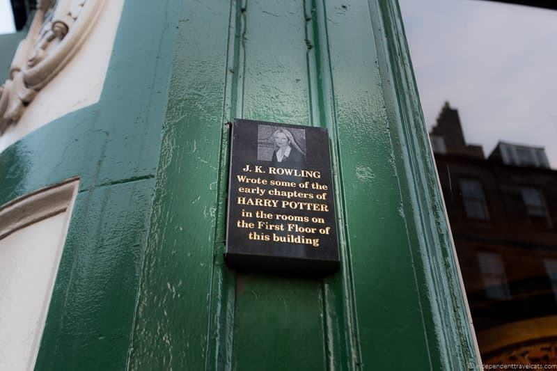 Nicolson's Cafe cafes where JK Rowling wrote Harry Potter in Edinburgh Scotland