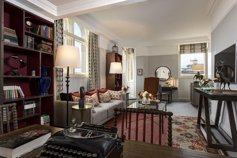 hotel where JK Rowling wrote Harry Potter in Edinburgh Scotland