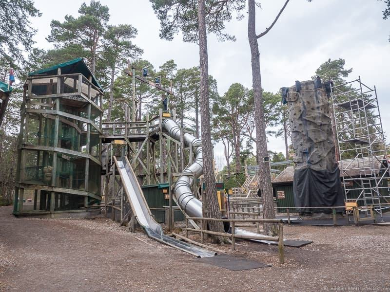 Landmark Forest Adventure Park things to do in the Cairngorms National Park in winter