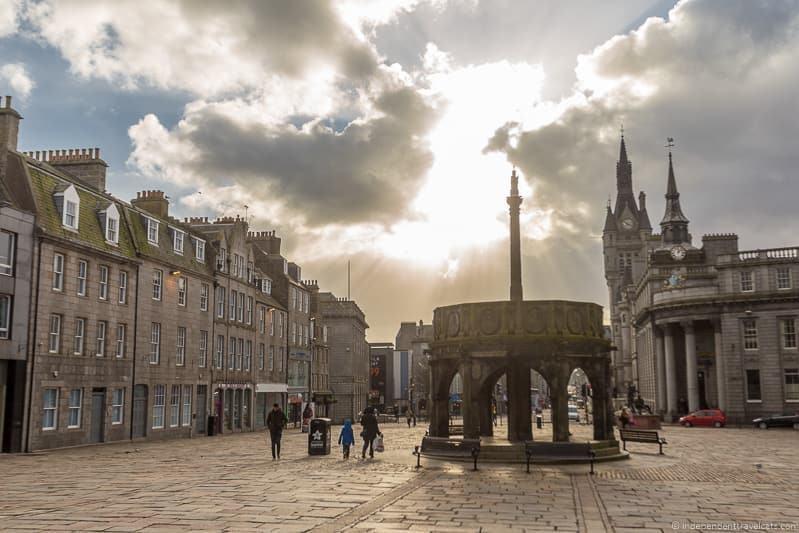 Mercat cross things to do in Aberdeen Scotland travel guide