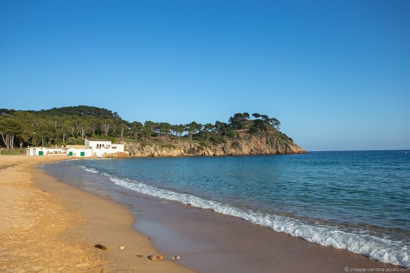 Platja Castell beach things to do in Palamós Spain Catalonia Costa Brava