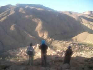 Morocco, Gorges du Dades, mountain