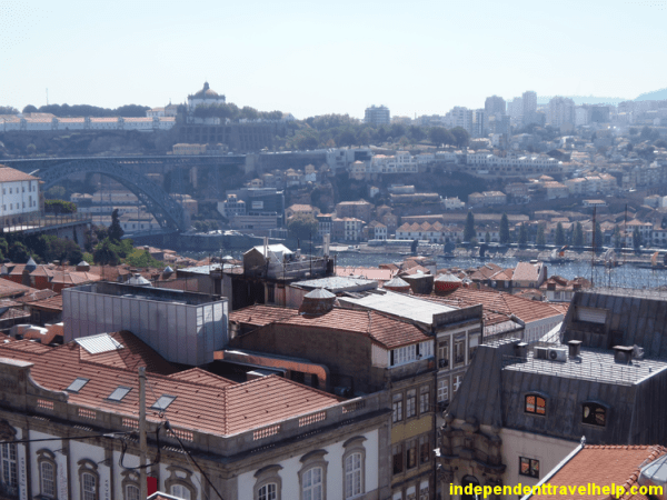 city view, river, porto, portugal