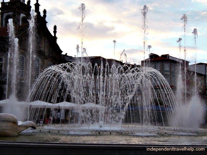 Fountain, braga, portugal