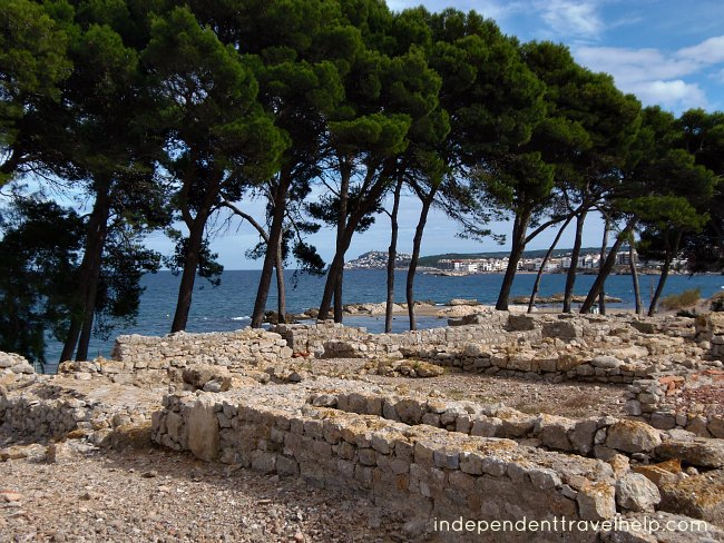 ruins, roman, greek, archaeology, archaeological site, empuries, beaches