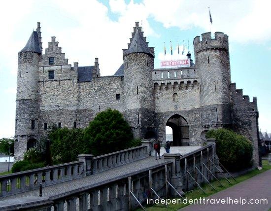 disney, castle, antwerp, belgium