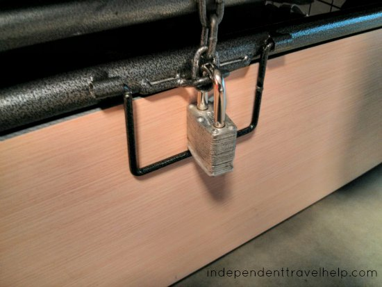 theft, travel, padlock, locker