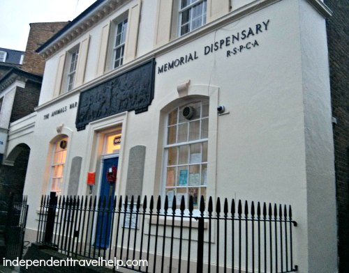 The Animal War Memorial Dispensary