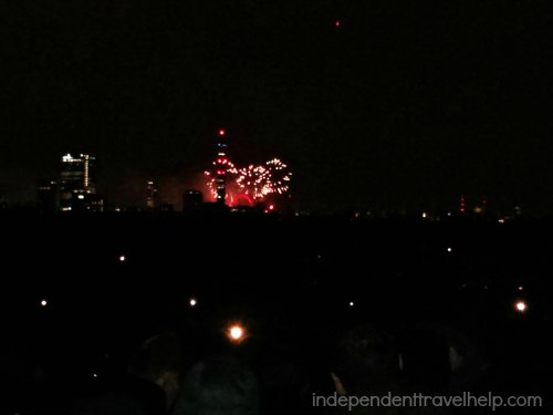 NYE Fireworks in London