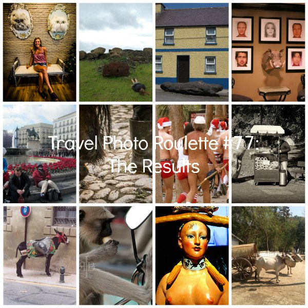 Travel Photo Roulette Collage