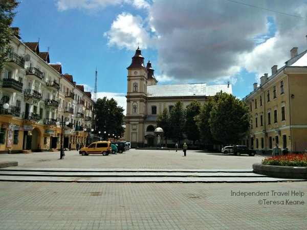 Ivano-Frankvisk city centre