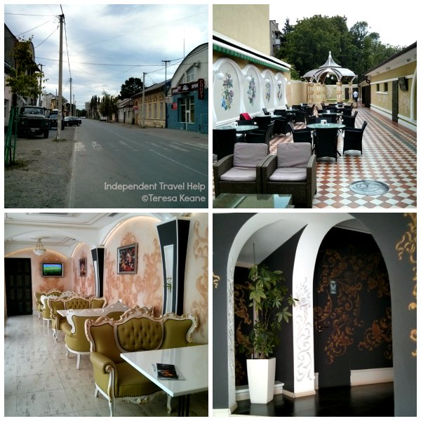 Fancy restaurant in Uzhgorod