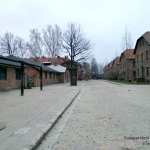 Auschwitz on a winter's day