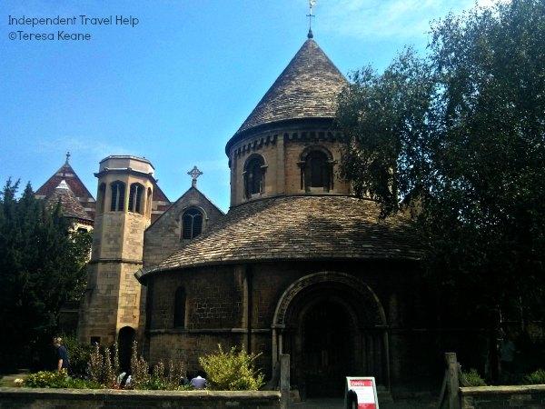The Round Church in Cambridge