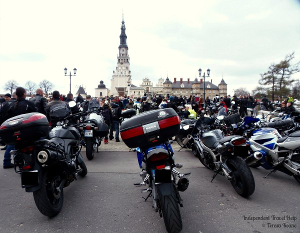 A motorbike pilgrimage, Jasna Gora