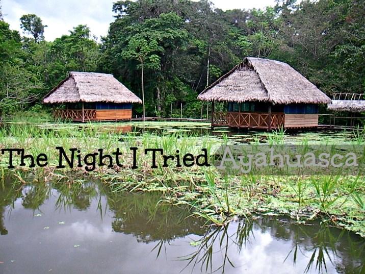 The Night I Tried Ayahuasca