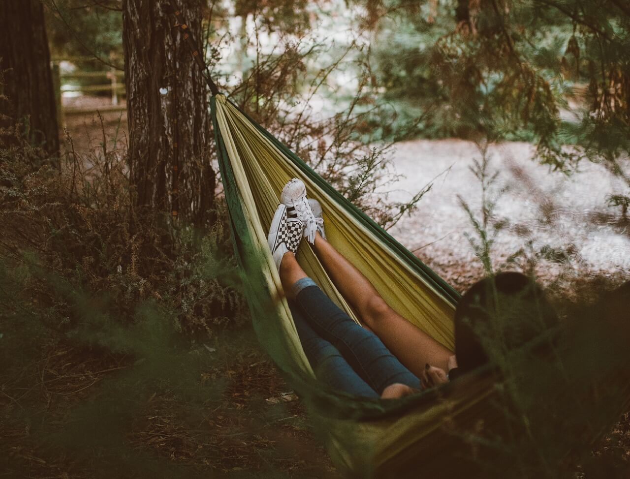 How To Backpack With A Hammock Not A Tent