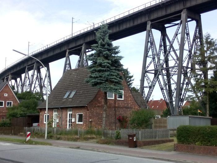 Eisenbahnhochbrücke Rendsburg