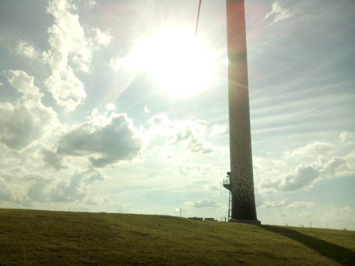 Auf dem Energieberg
