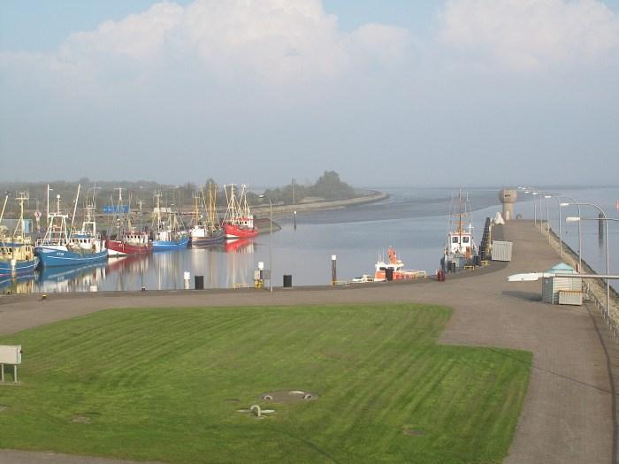 Hafen Eidersperrwerk