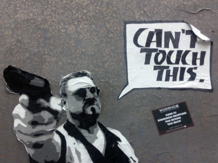 Street Art auf St. Pauli