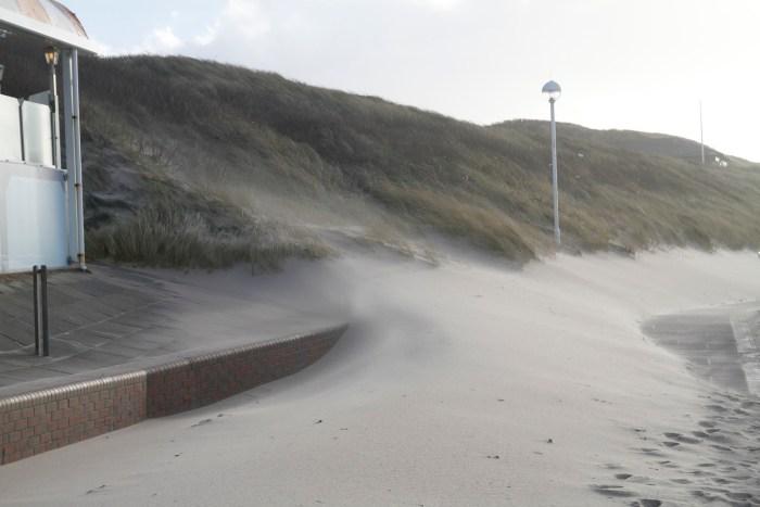 Sandsturm Westerland