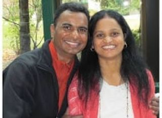 Subhash and Sujata Kommuru