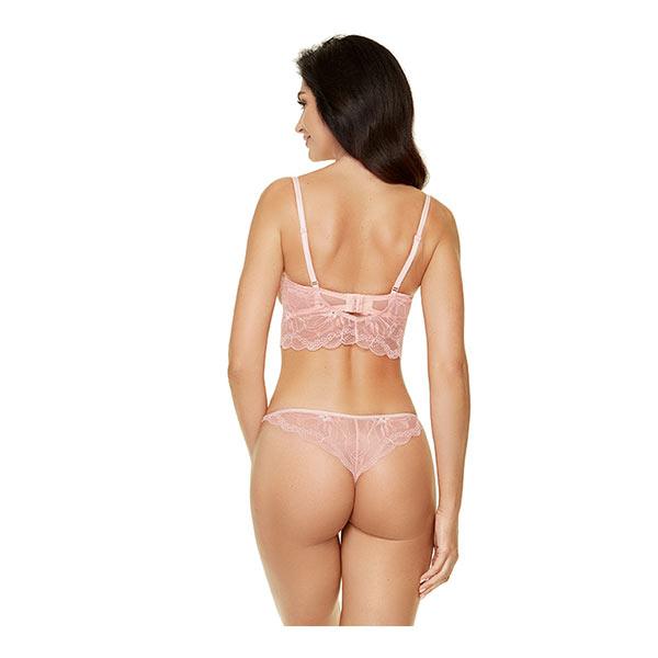 Gorteks Charlize Push up og String pink