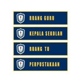Papan Nama Sekolah