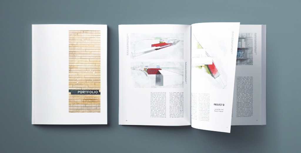 Minimal Architecture Portfolio Template For Indesign Free Download