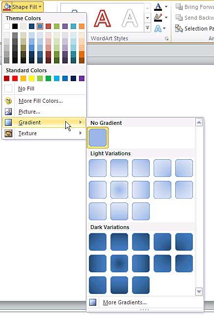 Program Linear Ppt : program, linear, Gradient, Fills, Shapes, PowerPoint, Windows