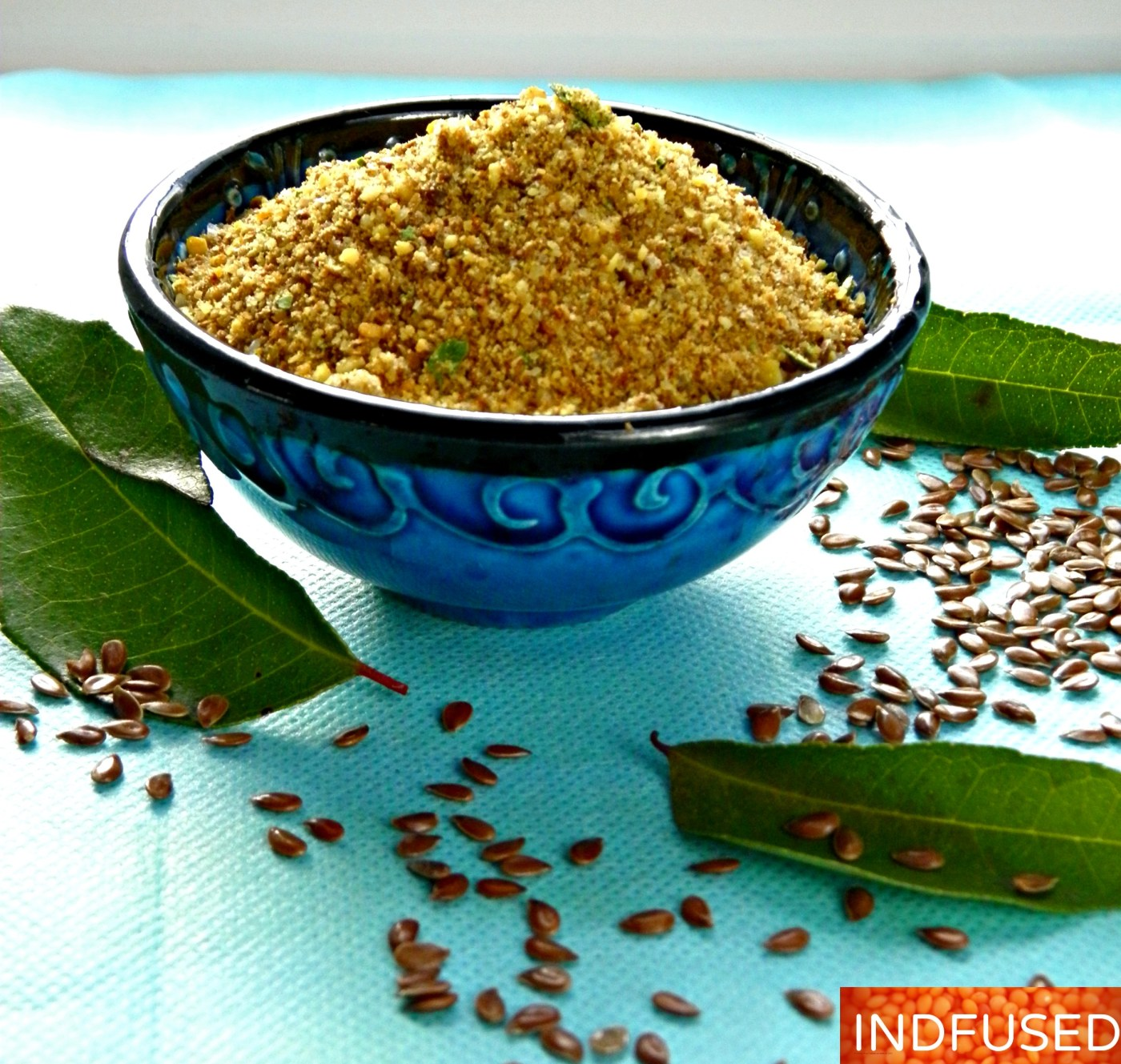 Healthy, handy, easy dry chutney with the goodness of coconut, curry leaves, flax seeds and dals