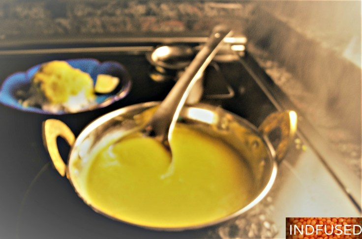 Very easy, gluten free, vegetarian dal recipe for Indian comfort food