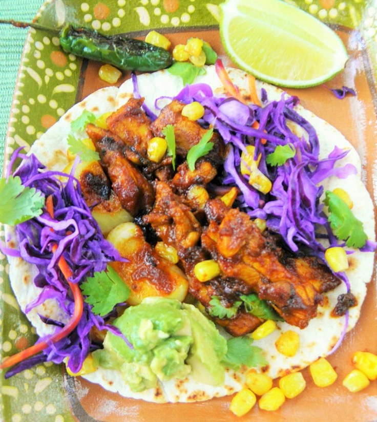 One Pan Chicken Vindaloo Tacos